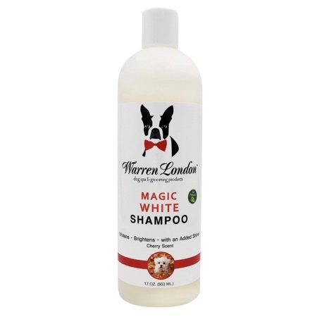 Warren London 102201 Brightening Shampoo for Dogs Magic White