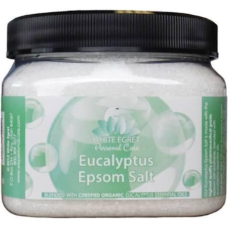 White Egret 233177 16 oz Pharmaceutical Epsom Eucalyptus Salts