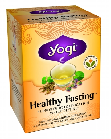 YOGI TEAS TEA HEALTHY FASTING ORG3-16 BG -Pack of 6
