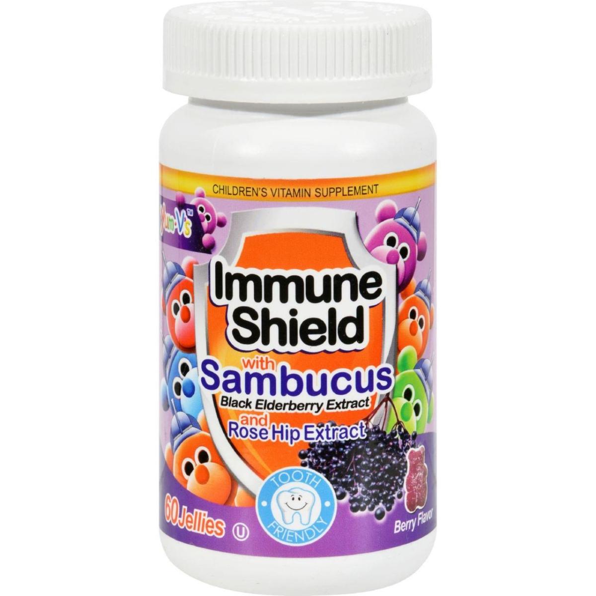 Yum Vs HG1137876 Immune Shield with Sambucus - 60 Chewables