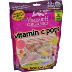 Yummy Earth HG1202787 Organic Vitamin C Lollipops- Over 40 Pops