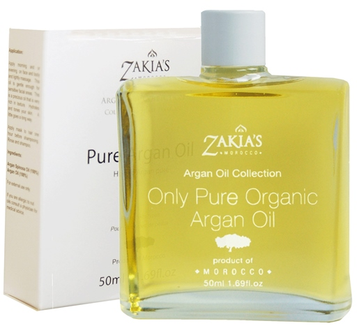 Zakias Morocco Arg-100 100 Percentage Pure Organic & Natural Argan Oil