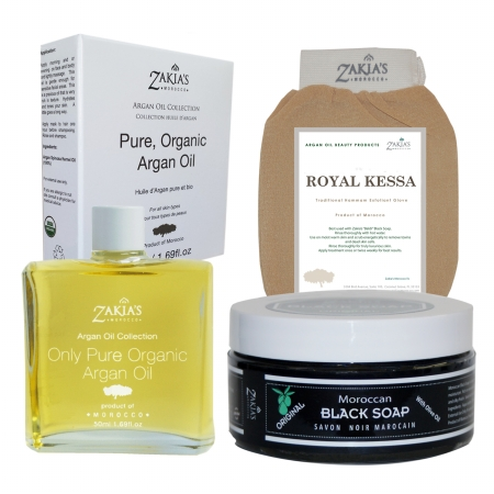 Zakias Morocco Kit100 Argan Oil Gift Sets - Original