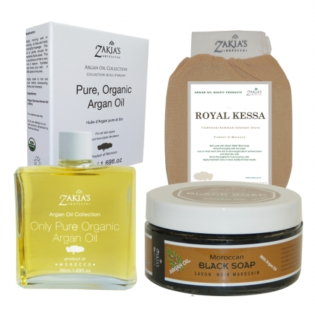 Zakias Morocco Kit110 Argan Oil Gift Sets - Argan