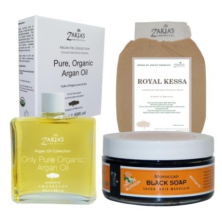 Zakias Morocco Kit112 Argan Oil Gift Sets - Orange Blossom