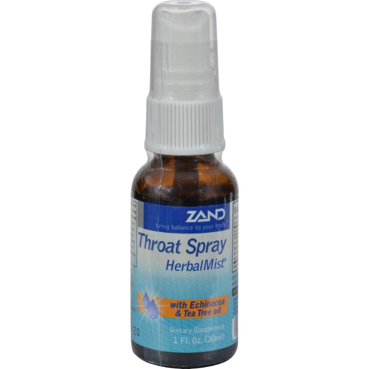 Zand HG0273425 1 fl oz Herbal Mist Throat Spray