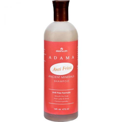 Zion Health HG1228121 16 fl oz Adama Minerals Anti Frizz Shampoo