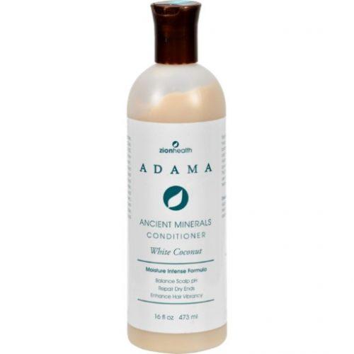 Zion Health HG1228246 16 fl oz Adama Minerals Anti Frizz Conditioner - White Coconut