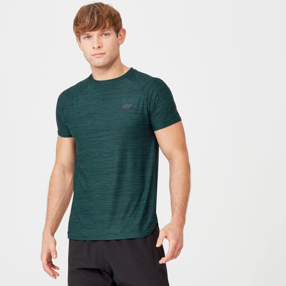 Dry-Tech Infinity T-Shirt - Dark Green Marl - XL