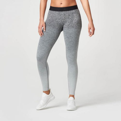 Myprotein Ombre Seamless Leggings - Black - XS