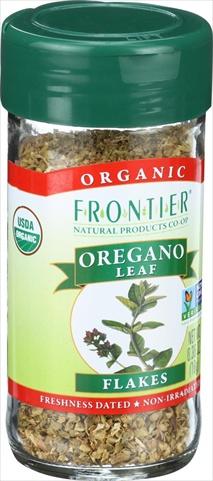 0.36 Ounce Oregano Leaf Organic Flake Cut And Sifted - Fancy Grade