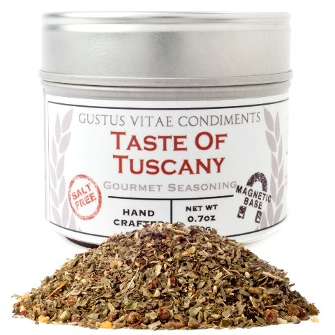 0.7 oz. Taste of Tuscany In Magnetic Tins - Pack 4