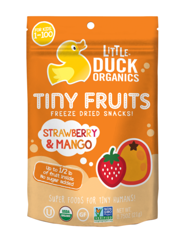 0.75 Ounce Strawberry & Mango Tiny Fruits
