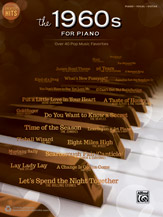 00-43013 Greatest Hits - The 1960s for Piano