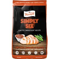 00995 Triumph Simply Six Limited Ingredient Dog Food, 14 lbs