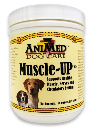 015AMP01-16 Muscle-Up Powder for Dogs 16 oz