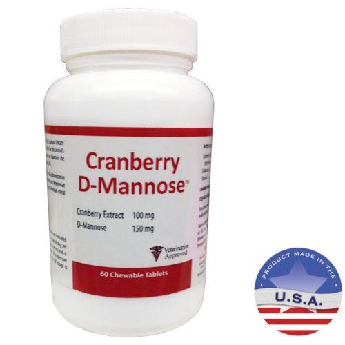 015HPET-CRANDM60 Cranberry D-Mannose 60 Chewable Tablets