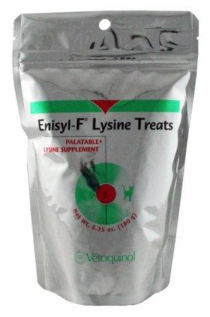 015VET01-180 Enisyl-F Lysine Treats 180 gram - 120 Count