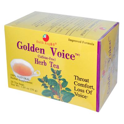 0281840 Golden Voice Herb Tea - 20 Tea Bags