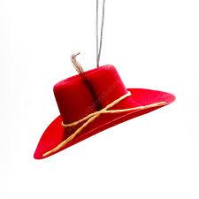 030403 Red Cowboy Hat Strawberry Air Freshener