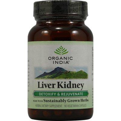 0337840 Liver Kidney Detoxify and Rejuvenate - 90 Vegetarian Capsules