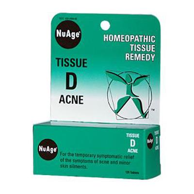 0346460 Hylands Tissue D Acne - 125 Tablets