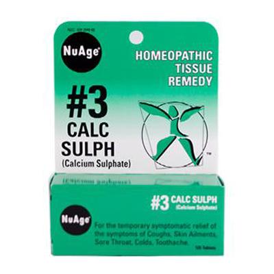0346767 Hylands NuAge No.3 Calc Sulph - 125 Tablets