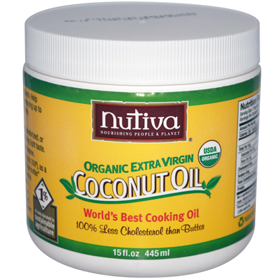 0389874 Extra Virgin Coconut Oil Organic - 15 fl oz