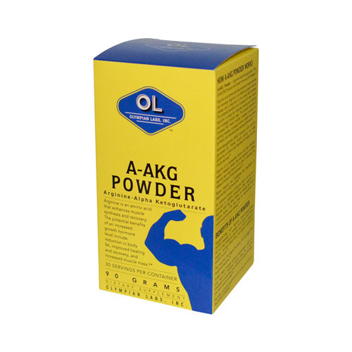 0392522 A-AKG Powder, 30 Servings