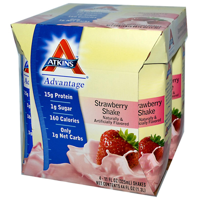 0458182 Advantage RTD Shake Strawberry - 11 fl oz Each - Pack of 4