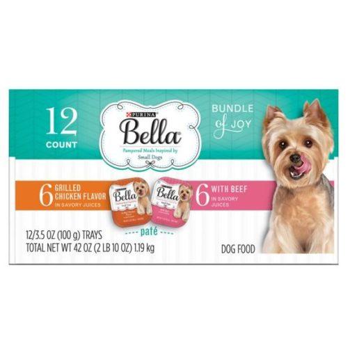 050418 3.5 oz Bella Beef Chicken Variety - Pack of 12