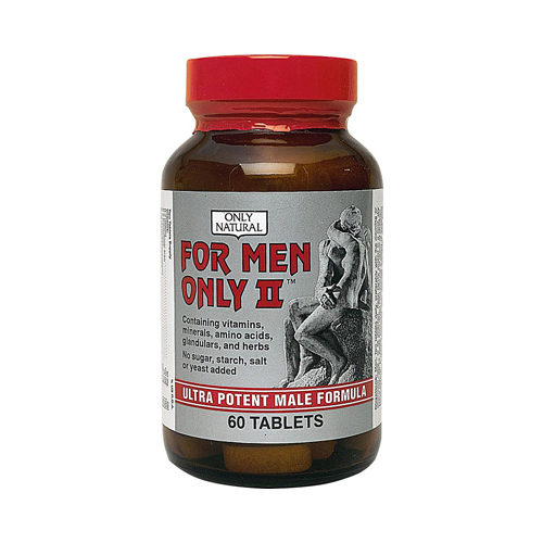 0525816 Men Only II Ultra Potent Male Formula Tablets, 60 Count