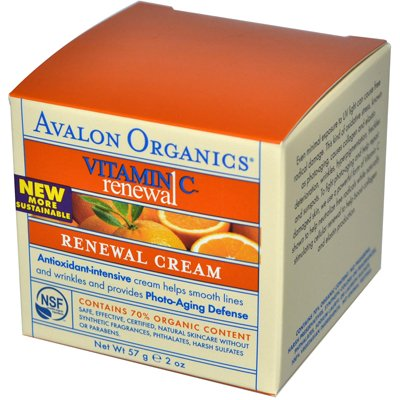 0633768 Renewal Facial Cream Vitamin C - 2 oz