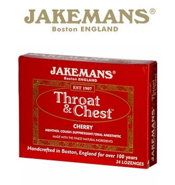 0650184 Throat & Chest Cherry 24 Lozenges - Case of 24 - 24 Pack