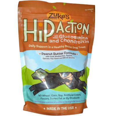 0653659 Hip Action Dog Treats Peanut Butter - 16 oz
