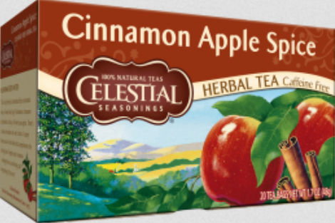 0720722 Cinnamon Apple Spice 20 Tea Bags - Case of 6 - 20 Bag