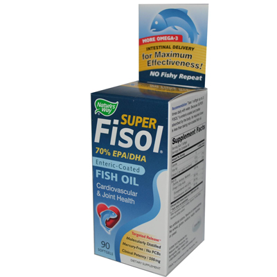 0783639 Super Fisol Fish Oil - 90 Softgels