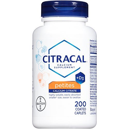 0808989 Citracal Petites with Vitamin D3, 200-Count