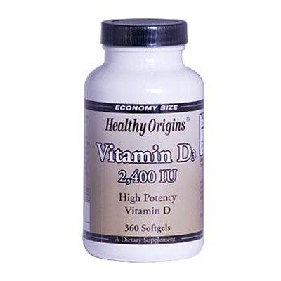0820811 Vitamin D3 - 2400 IU - 360 Softgels