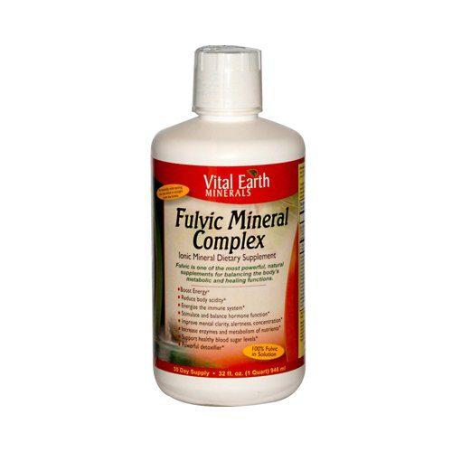 0882415 Fulvic Mineral Complex, 32 fl oz