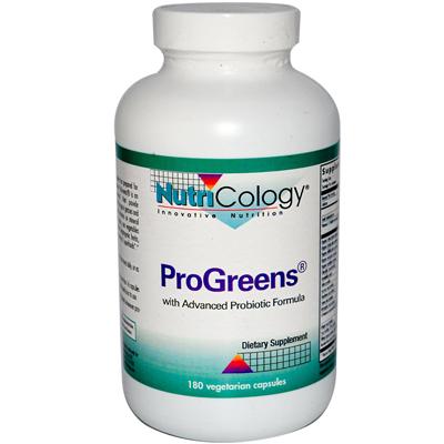 0889089 ProGreens With Advanced Probiotics Formula - 180 Capsules