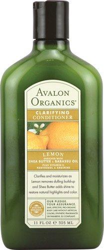 0936583 Organics Clarifying Lemon with Shea Butter Shampoo, 11 fl oz