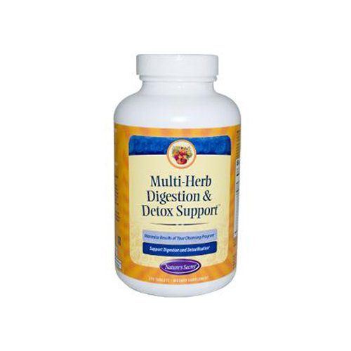 0944793 Multi-Herb Digestion & Detox Support Tablets, 275 Count