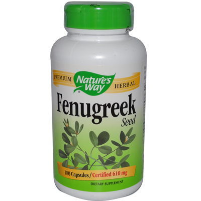 0967331 Fenugreek Seed - 180 Capsules