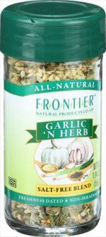 1.68 Ounce Garlic N Herb Seasoning Blend