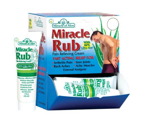 100 1 oz Miracle of Aloe Rub