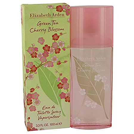 10020714 3.3 oz Green Tea Cherry Blossom Eau De Toilette Spray for Women