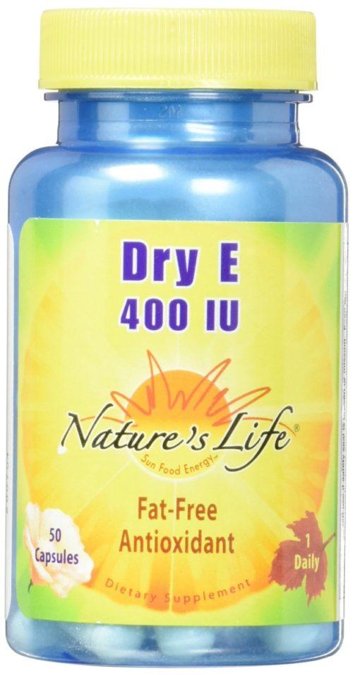 1003712 E 400IU Dry 50 Capsules
