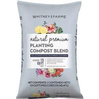 10101-72201 1.5 cu ft. Natural Premium Planting Compost Blend
