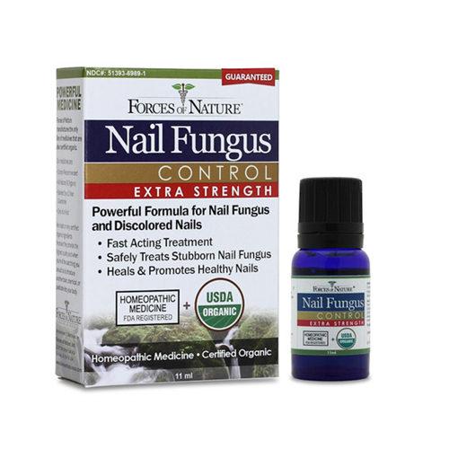 1025352 Organic Nail Fungus Control - Extra Strength, 11 ml